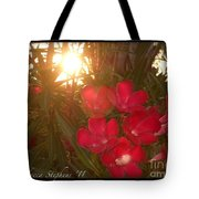 Tropical Red Tote Bag