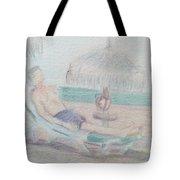 Tropical Repose Tote Bag