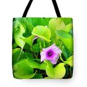 Tropical Rosewood In Hiding Tote Bag