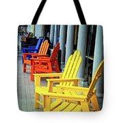Tropical Seating Tote Bag