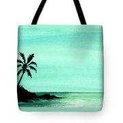Tropical Shore Tote Bag
