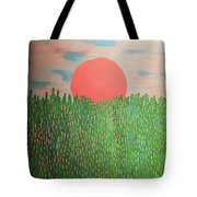 Tropical Spring Tote Bag