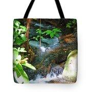 Tropical Stream Tote Bag