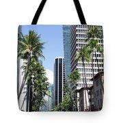 Tropical Street Tote Bag