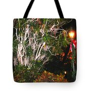 Tropical Streetlight Tote Bag