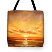 Tropical Sunset 75 Tote Bag