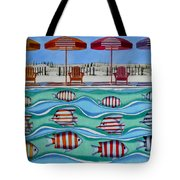 Tropical Sycronicity Tote Bag