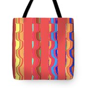 Tropical Vibrations Tapestry Tote Bag