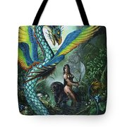 Tropical Temptress Tote Bag