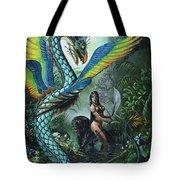 Tropical Temptress Tote Bag