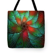 Tropical Tones Tote Bag