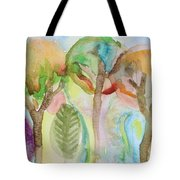 Tropical Trees Tote Bag