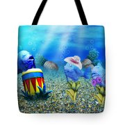 Tropical Vacation Under The Sea Tote Bag
