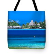 Tropical Views, Tote Bag