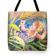Tropical Water Baby Tote Bag