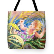 Tropical Water Baby Tote Bag