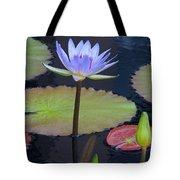 Tropical Water Colors Tote Bag