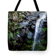 Tropical Waterfall Tote Bag