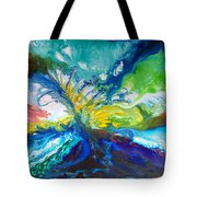 Tropical Wave Tote Bag