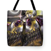Tropical Wind Abstract Tote Bag