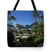 Tropicana And The M G M Grand, Las Vegas Tote Bag