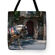 Trotting Into The Past Tote Bag