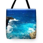 Trou Madame Coco, Grande Terre, Guadeloupe Tote Bag