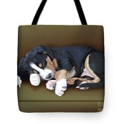 Trouble Tote Bag by Jacqueline Barden