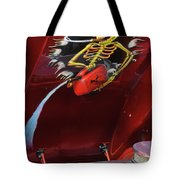 Trouble Under The Hood Tote Bag