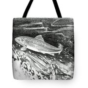 Trout II Tote Bag