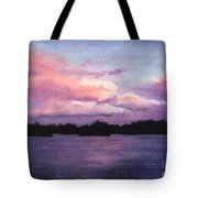 Trout Lake Sunset I Tote Bag