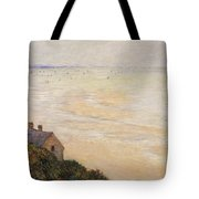 Trouville At Low Tide Tote Bag by Claude Monet