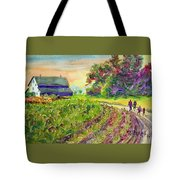 Troy's Memories Tote Bag by Kathy Braud