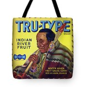 Tru - Type Vintage Fruit Crate Label Tote Bag