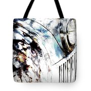 Truck In Dappled Sunlight Tote Bag