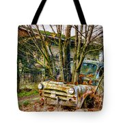 Truck N Tree Tote Bag