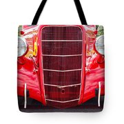 Truck Red Tote Bag