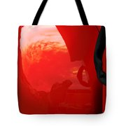 Truck Reflection 2 Tote Bag