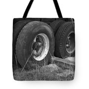 Truck Tires Tote Bag