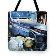 Truckin Tote Bag by Debbi Granruth
