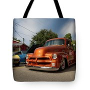 Trucking With Style Tote Bag