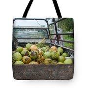 Truckload Of Coconuts Tote Bag