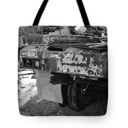 Trucks And Sky Tote Bag
