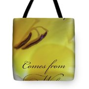 True Beauty Comes From Within Tote Bag