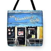 True Blue Bird Tote Bag