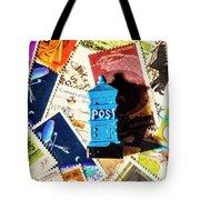 True Blue Postbox Tote Bag