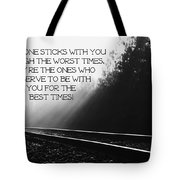 True Friends Tote Bag