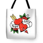 True Love Tattoo Tote Bag