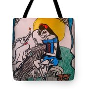 True Love's Kiss In Color Tote Bag