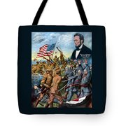 True Sons Of Freedom -- Ww1 Propaganda Tote Bag